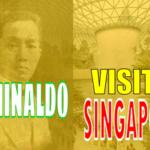 Emilio Aguinaldo Dropped by Singapore's Historic Raffles Hotel